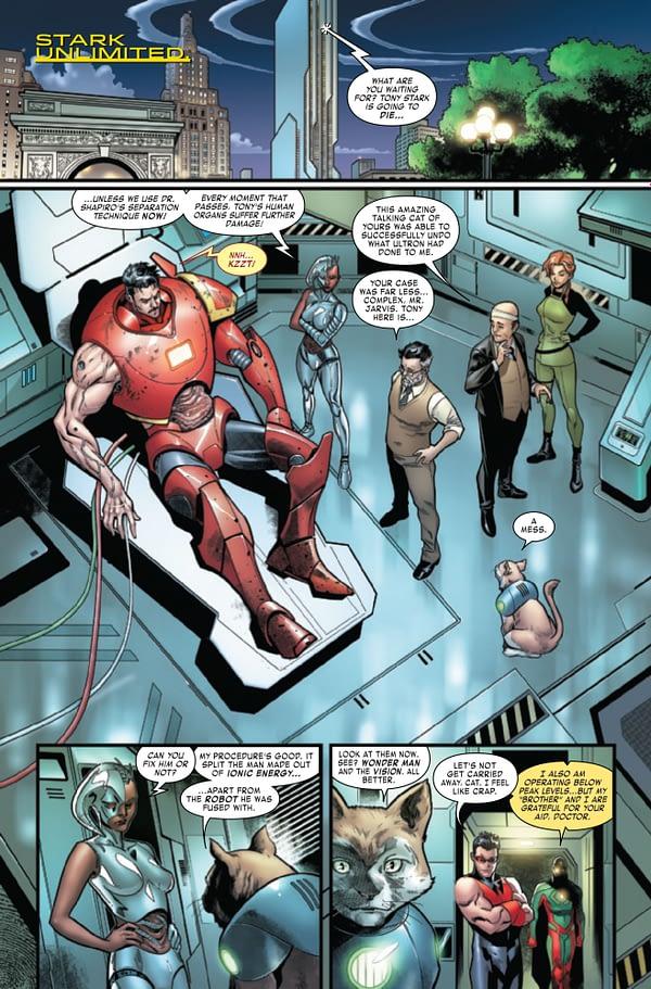 Tony Stark: Iron Man #18 [Preview]