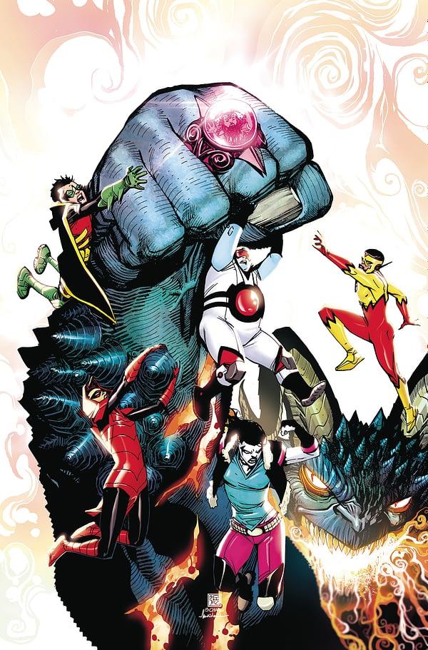 Adam Glass to End Run on Teen Titans With the Djinn War,
