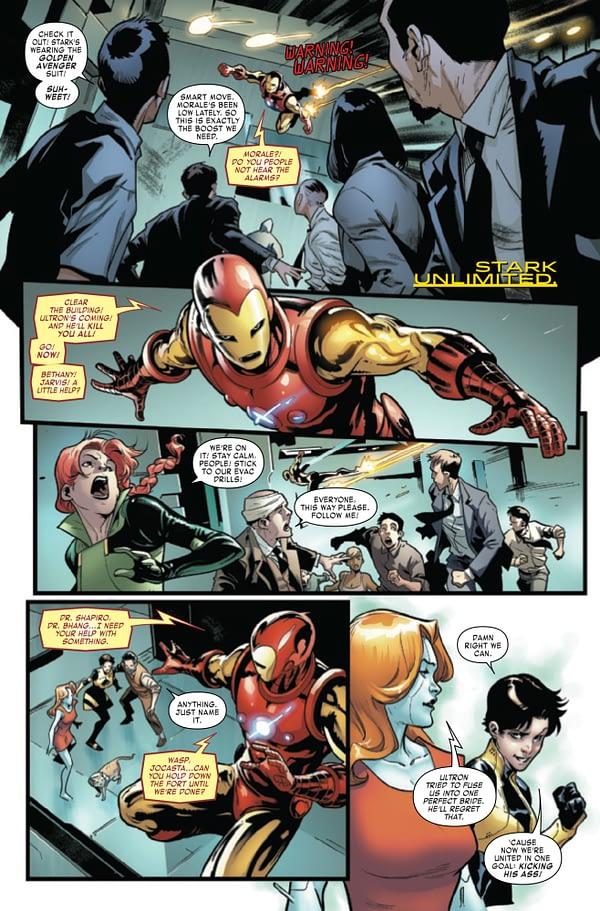 Tony Stark: Iron Man #19 [