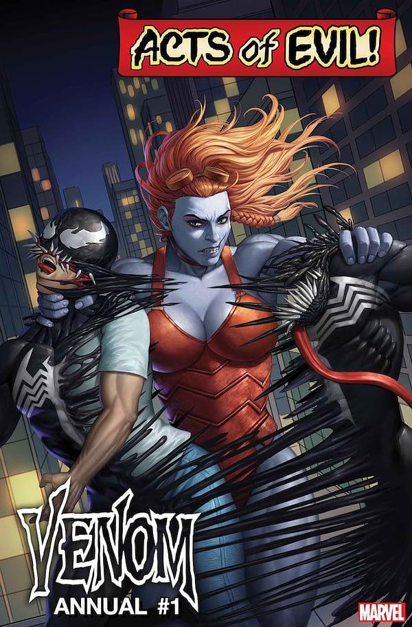 New Warriors TV Writer Emily Lerner Pens Lady Hellbender Origin for Venom Annual