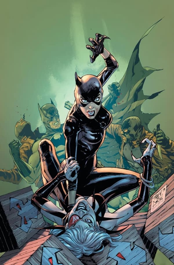Batman and Catwoman Reunited in September for City of Bane Interlude