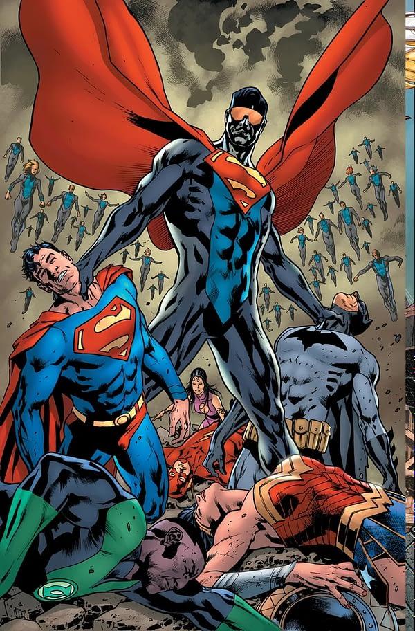 Surrogates Creator Robert Venditti is the New Justice League Writer for 2020, With Doug Mahnke, Jaime Mendoza, Aaron Lopresti and Matt Ryan