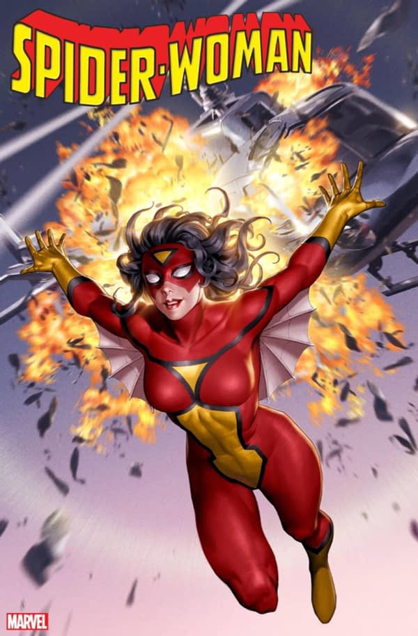 Karla Pacheco and Pere Perez Relaunch Spider-Woman in February