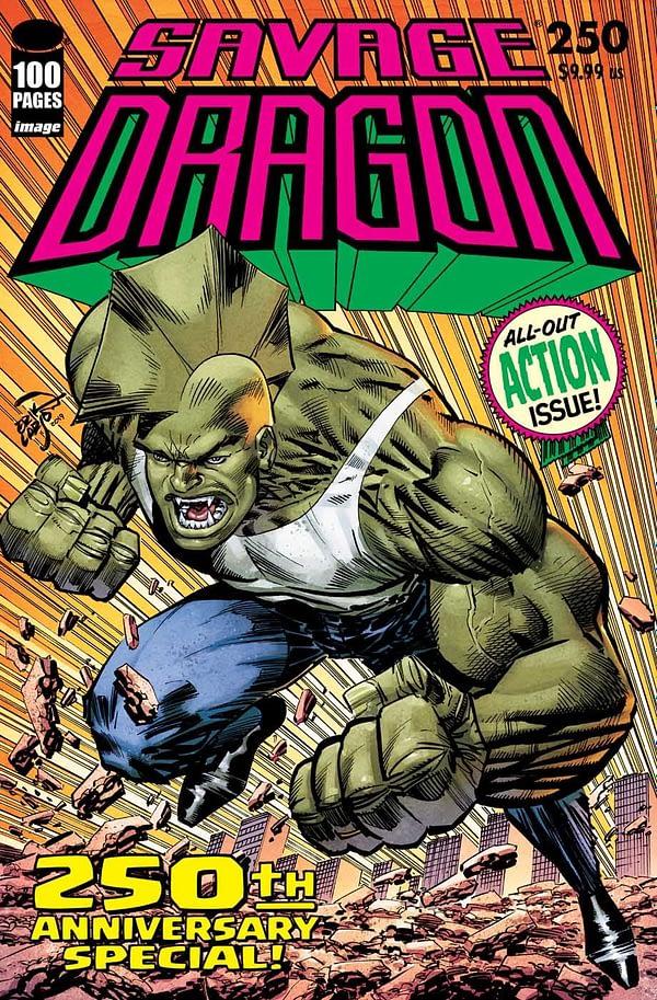 A Look at Savage Dragon #250