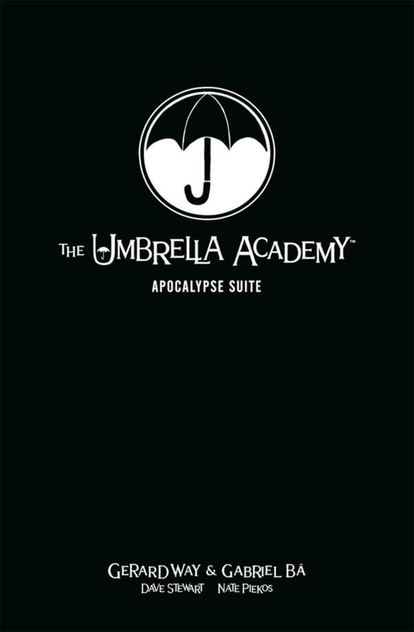 Dark Horse to Reprint Umbrella Academy in Library Edition Format This Fall