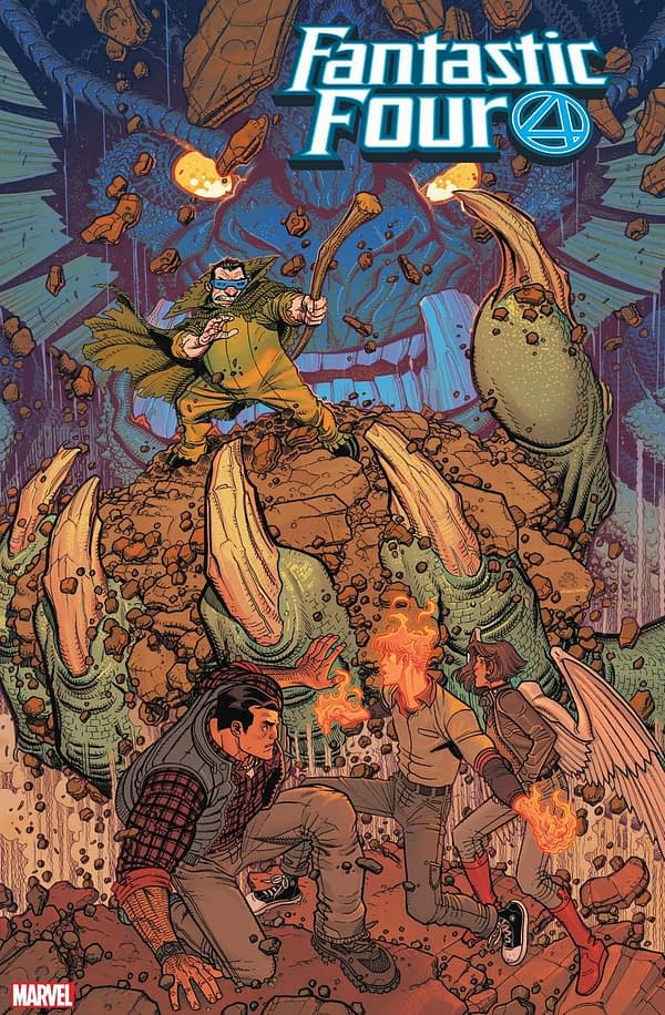 Mole Man Returns to Fantastic Four in March