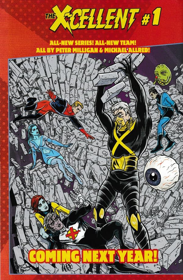 Marvel To Launch The X-Ellents by Peter Milligan and Mike Allred in 2020