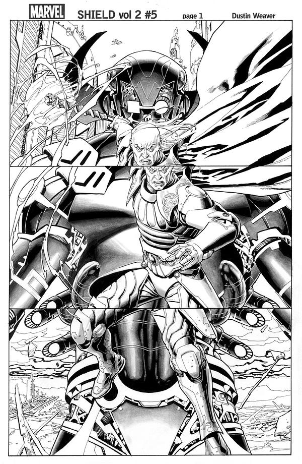 Shield v2 #5 page1