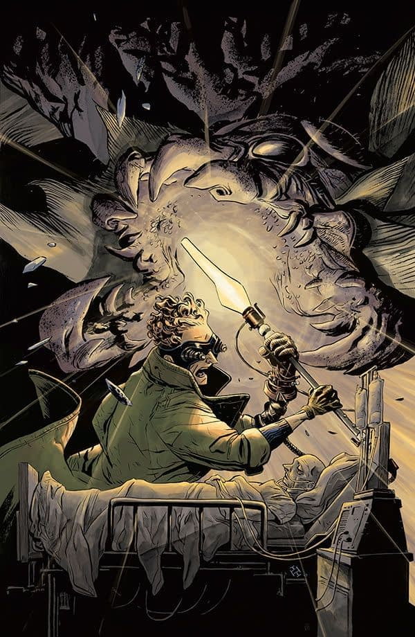 Doctor Star and the Kingdom of Lost Tomorrows #2 cover by Max Fiamura
