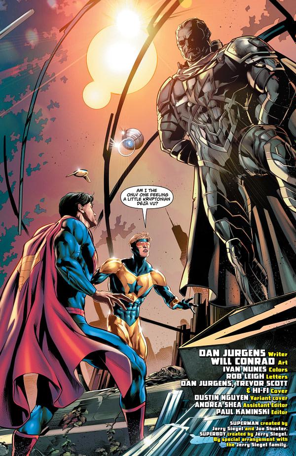 Action Comics #996 art by Will Conrad and Ivan Nunes
