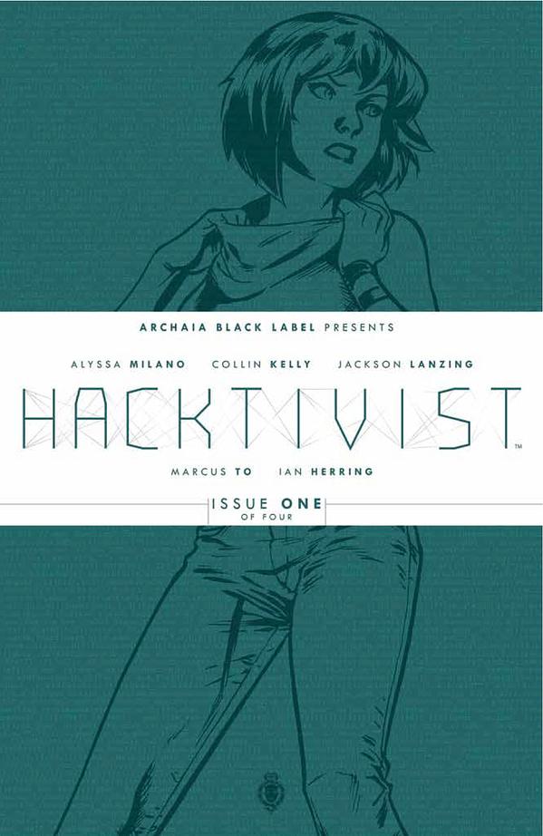 Hacktivist 001 Cover