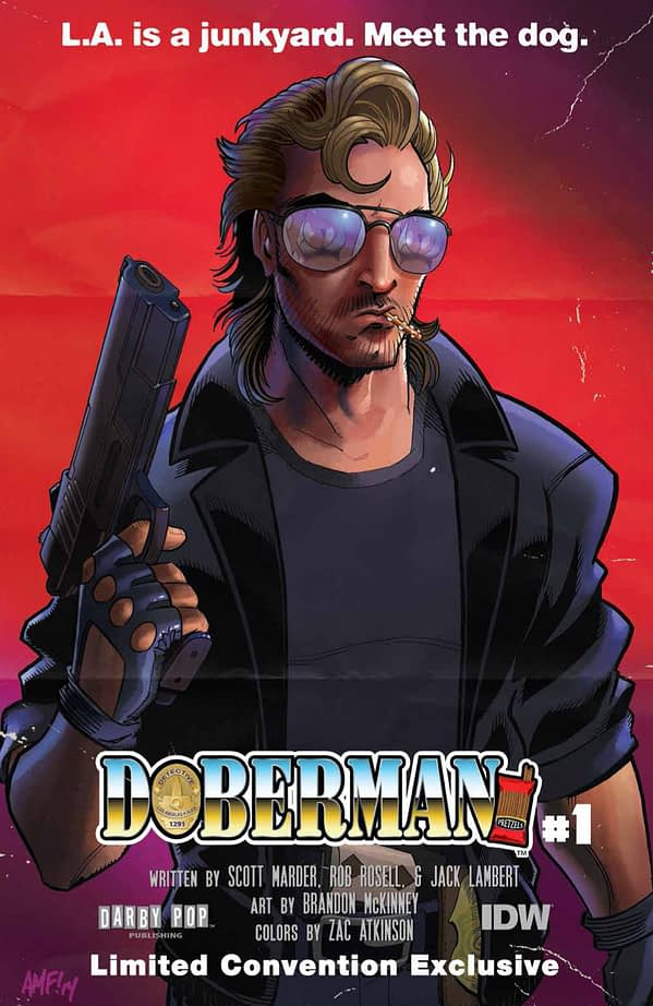 Doberman Fleecs Cover