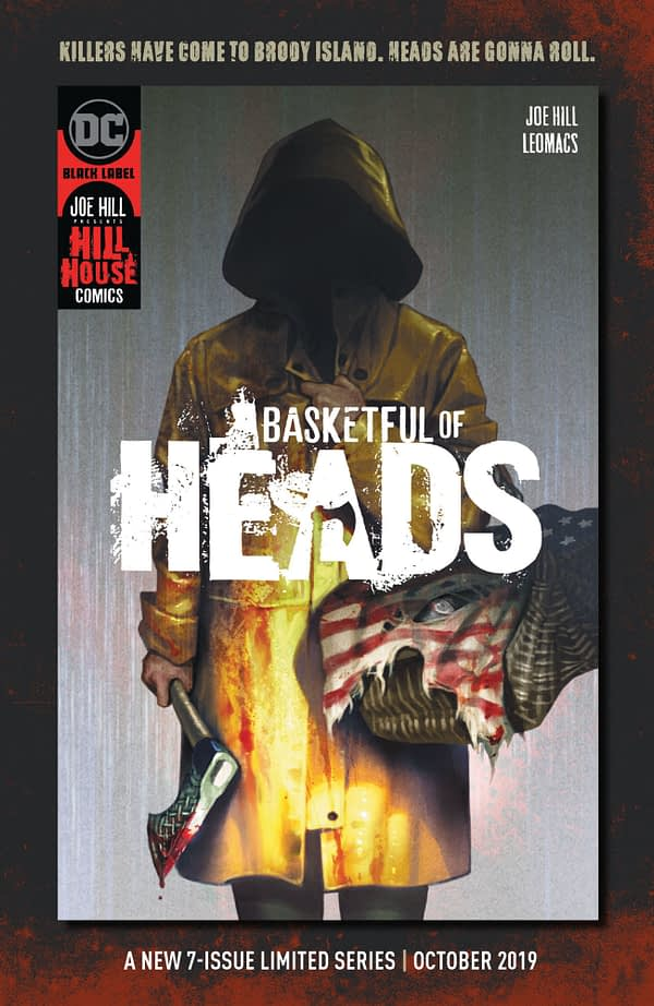 Joe Hill's Basketful Of Heads #1 Jumps From 6 Issues to 7
