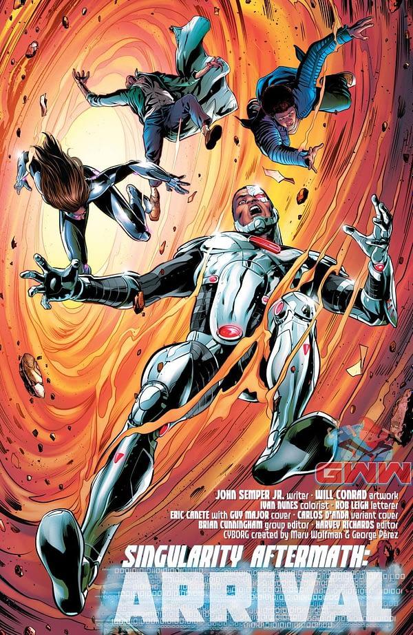 Cyborg comic