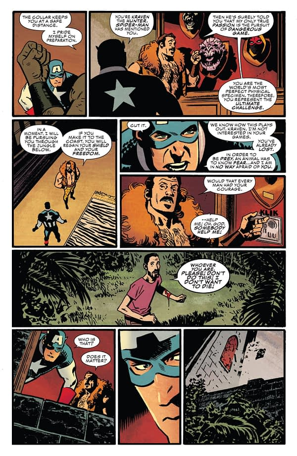 Captain America #697 art by Chris Samnee and Matthew Wilson