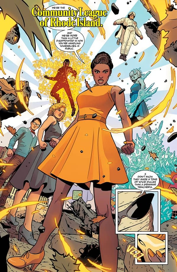 JLA/Doom Patrol Special #1 art by Aco, Tamra Bonvillain, and Marissa Louise