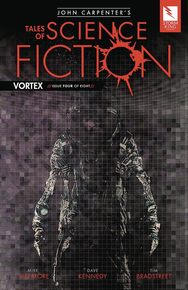 John Carpenter's Tales of Science Fiction: Vortex #4 cover by Tim Bradstreet