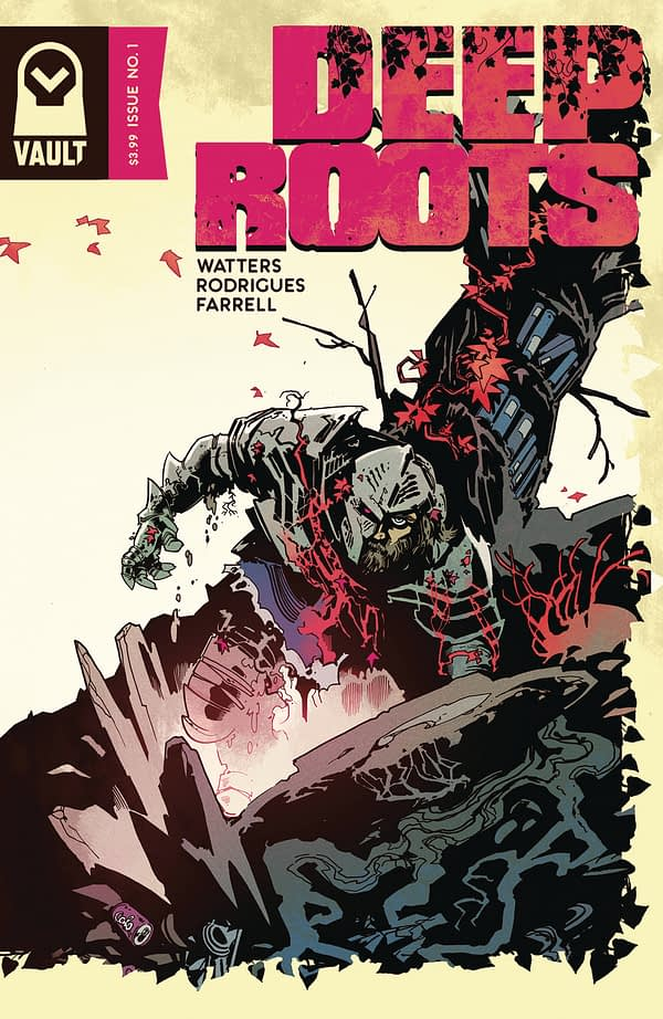 Deep Roots #1 cover by Dani Strips
