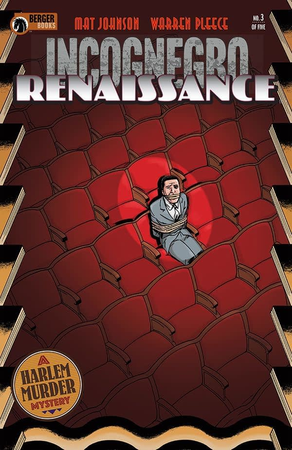 Incognegro: Renaissance #3 cover by Warren Pleece