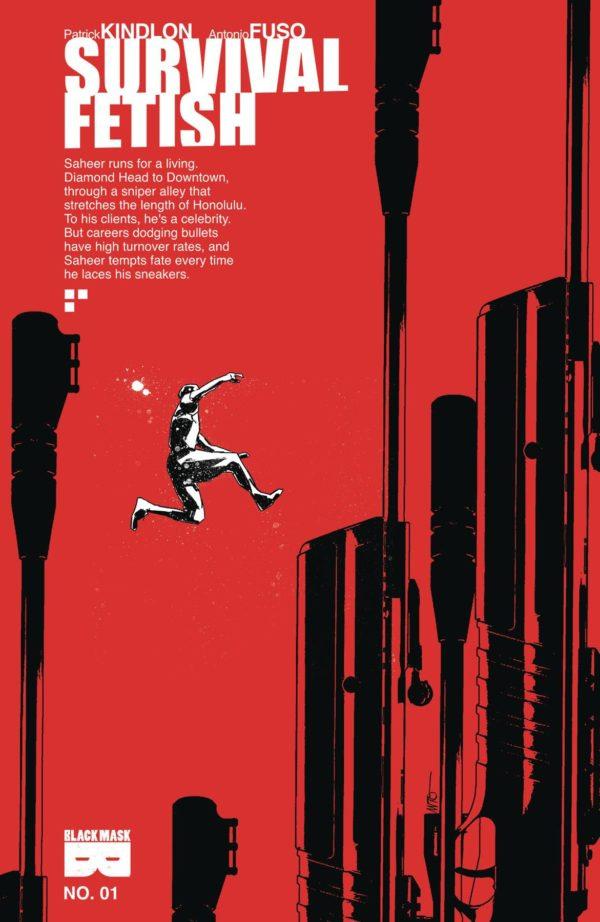 Survival Fetish #1 cover by Antonio Fuso