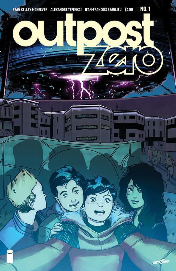 Outpost Zero #1 cover by Jean-Francois Beaulieu and Alexandre Tefenkgi