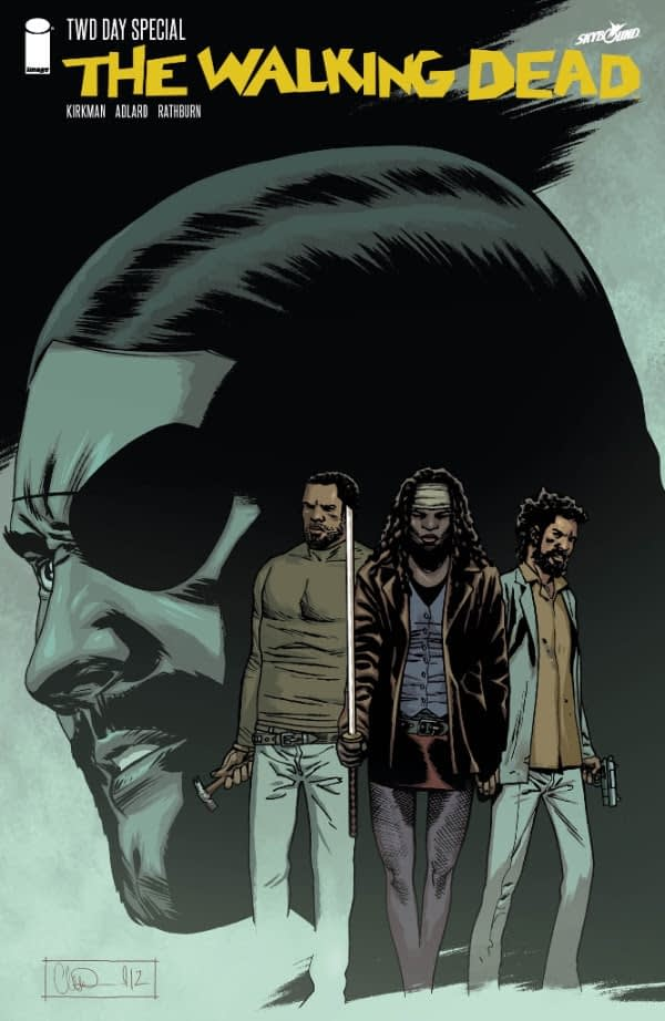 Walking Dead #1 15th Anniversary Store Variant Cover