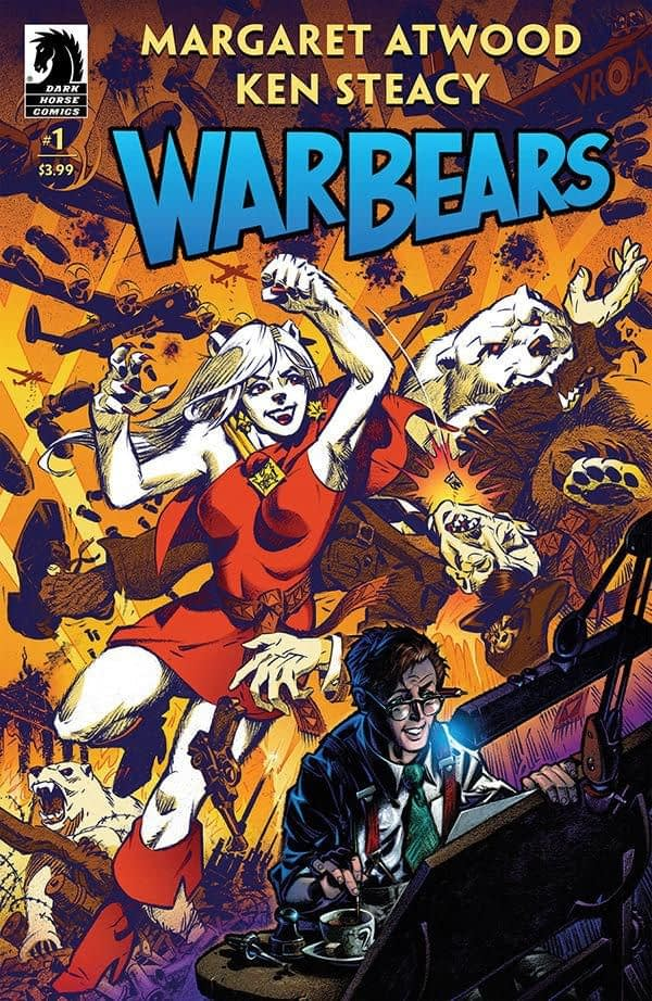 War Bears #1 cover by Ken Steacy