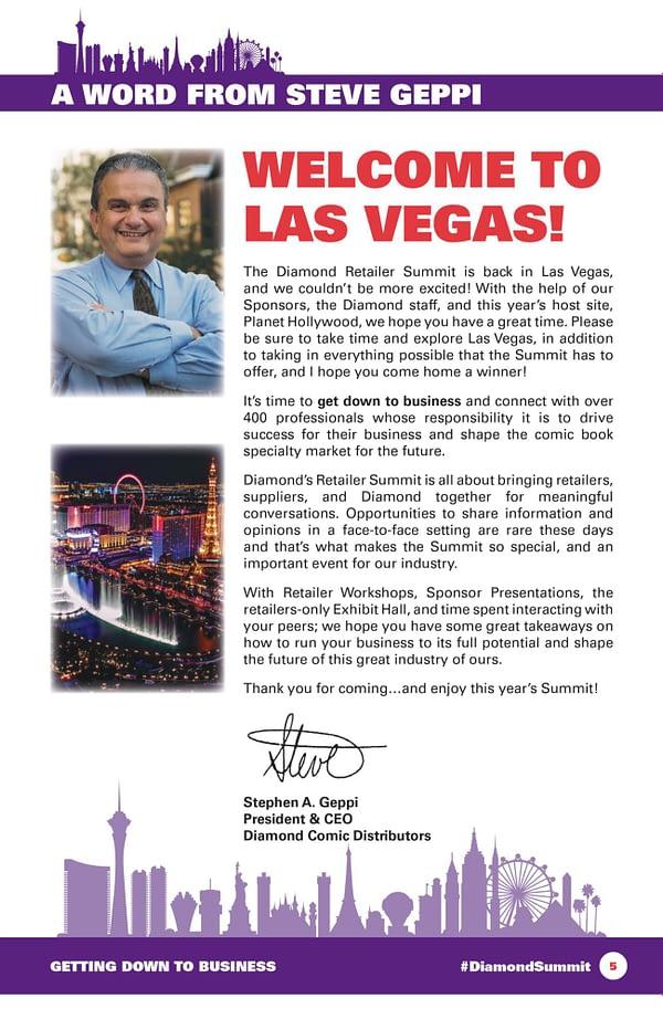 Diamodn Retailer Summit Las Vegas