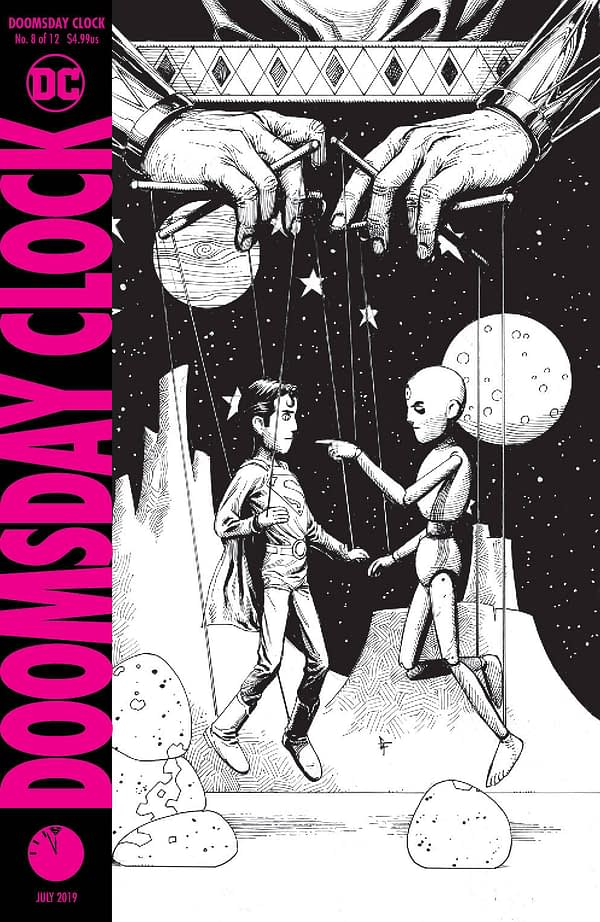 Doomsday Clock to Arrive Early - But Only The Second Printing