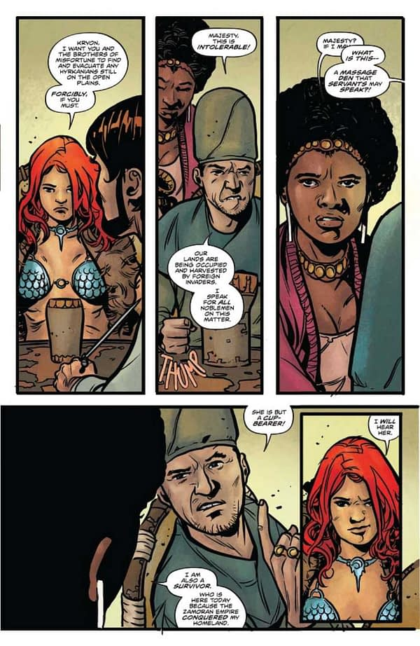 Three Comcis Parody Red Sonja This Week - One Of Them Is Red Sonja