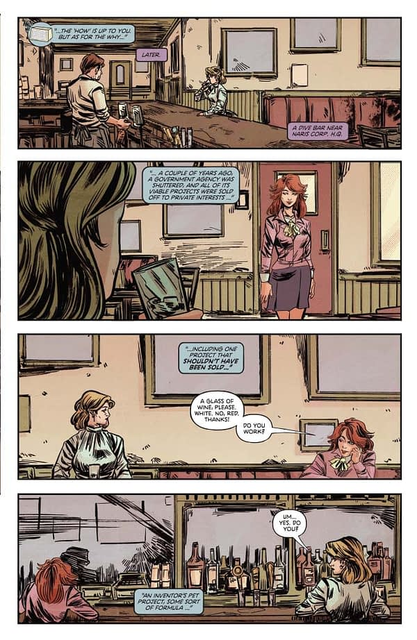 Cameron DeOrdio's Writer's Commentary on Charlie's Angels/Bionic Woman #1,