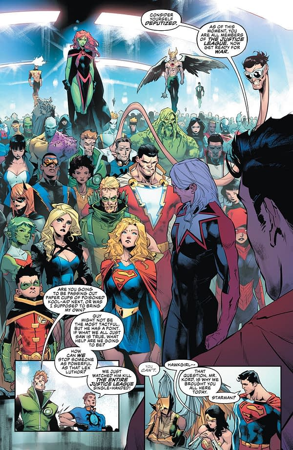 Scott Snyder is Happy if You Only Buy One Copy of Justice League - as Long as It's Next Week's.