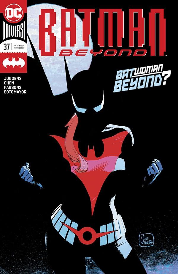 Batwoman Beyond Means Batman Beyond #37 Gets a Second Printing