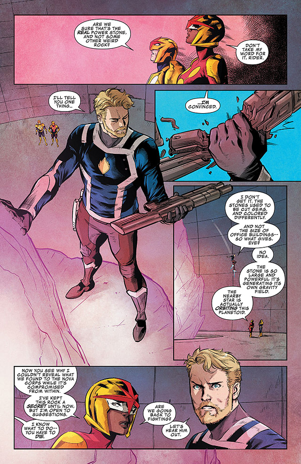 Guardians of the Galaxy #148 art by Marcus To and Ian Herring