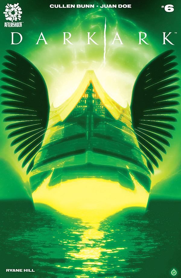Dark Ark #6 cover by Juan Doe
