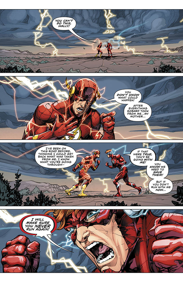 The Flash #47 art by Howard Porter and Hi-Fi