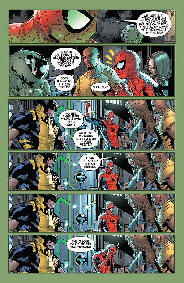 Hunt for Wolverine: Adamantium Agenda #1 art by R.B. Silva, Adriano di Benedetto, and Jesus Aburtov