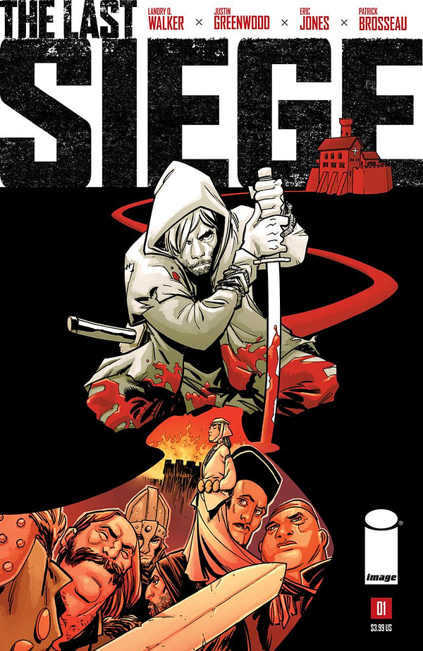 The Last Siege #1 cover by Justin Greenwood and Jordan Boyd