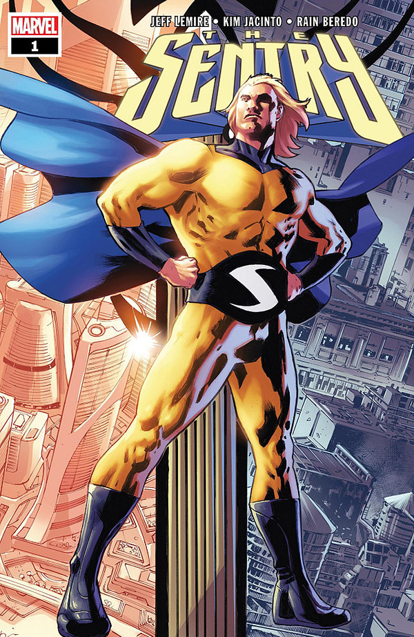 Sentry #1 cover by Bryan Hitch and Marcio Menyz