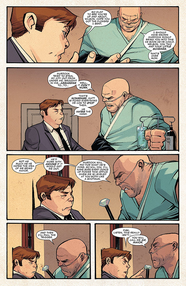 Daredevil #605 art by Mike Henderson and Matt Milla