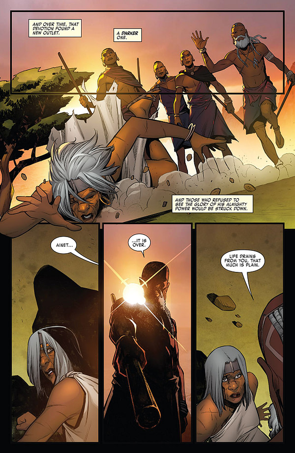 X-Men: Gold #33 art by Michele Bandini and Erick Arciniega
