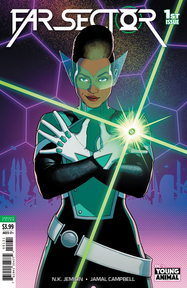 """Jo"" Mullein Will Replace Hal Jordan as the Green Lantern For DC Comics' 5G"