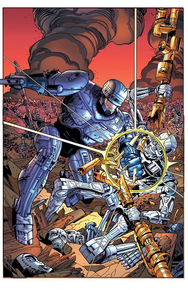 【淺談娛樂歷史】你可知道法蘭克米勒曾想把機器戰警跟魔鬼終結者弄在同宇宙?!