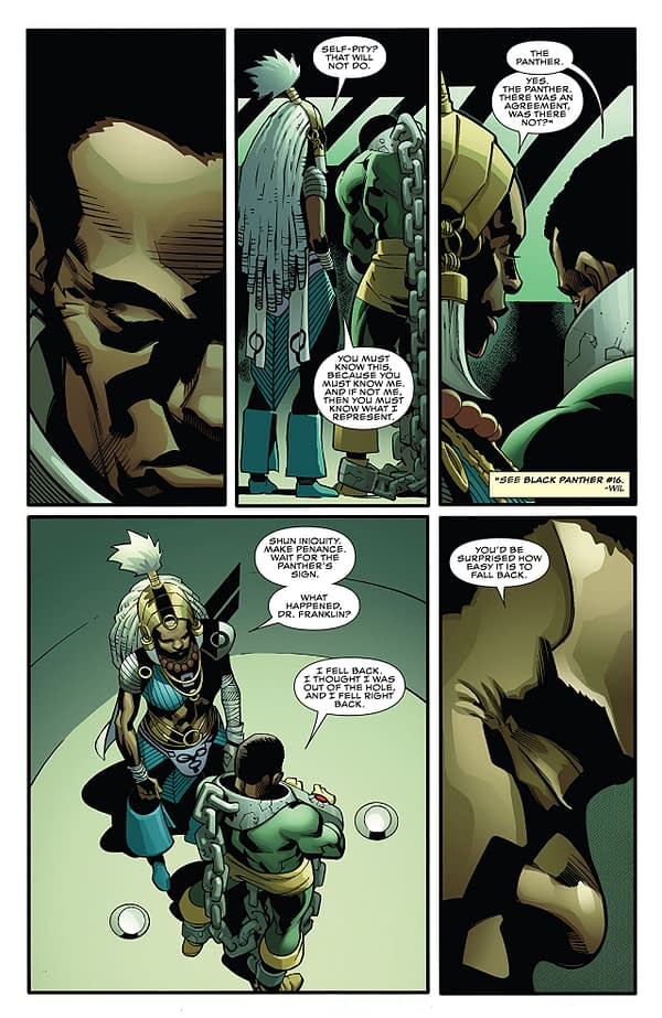 Black Panther #167 art by Leonard Kirk, Marc Deering, Laura Martin, and Matt Milla