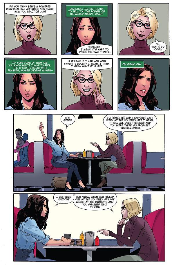 She-Hulk #159 art by Jahnoy Lindsay, Federico Blee, and Chris Sotomayor