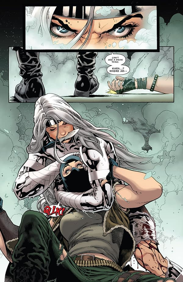 Silver Sable and the Wild Pack #36 art by Paulo Siqueira, Jose Luis, Cam Smith, Terry Pallot, and Rachelle Rosenberg