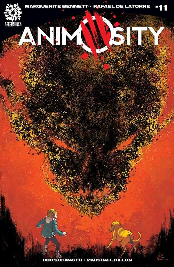 Animosity #11 cover by Rafael de Latorre and Marcelo Maiolo