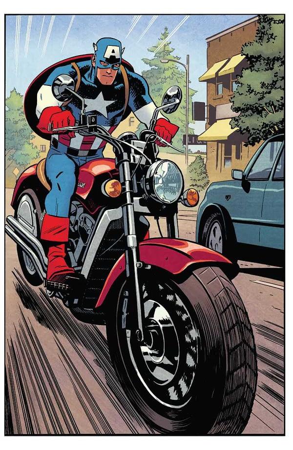 Captain America #696 art by Chris Samnee and Matthew Wilson