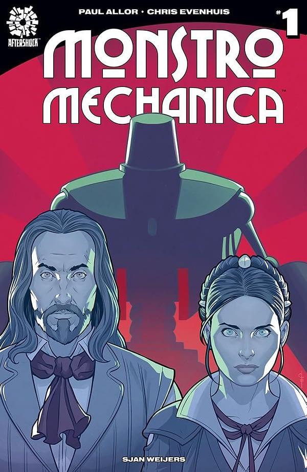 Monstro Mechanica #1 cover by Chris Evenhuis