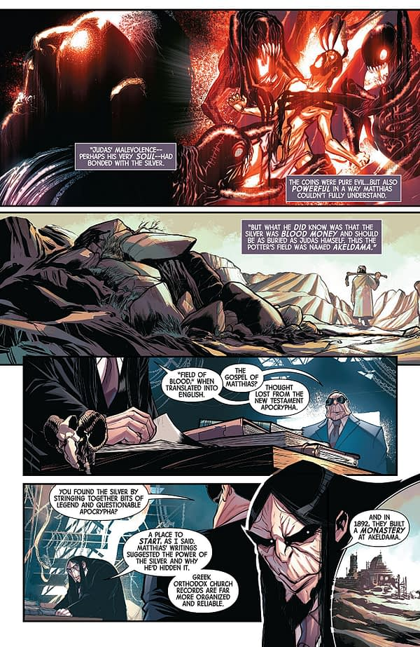 Spirits of Vengeance #3 art by David Baldeon and Andres Mossa
